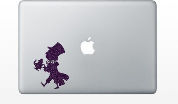 Mad Hatter laptop decal