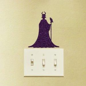 Maleficent Sleeping Beauty fabric sticker