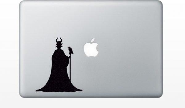Maleficent Sleeping Beauty macbook decal