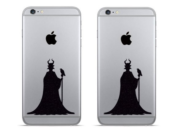 Maleficent iPhone stickers