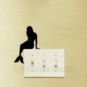 Mermaid Decor for Bedroom wall sticker