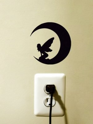 Moon Fairy Wall Sticker