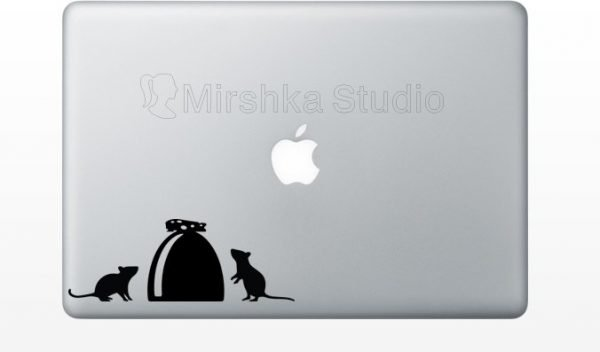 Mouse House Laptop Decal