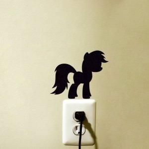 My Little Pony Fabric Sticker