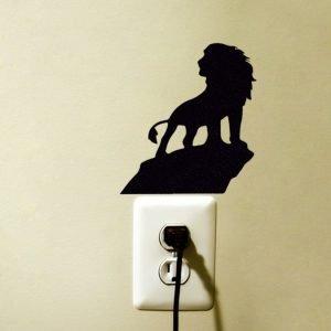 Simba The Lion King Fabric Wall Sticker
