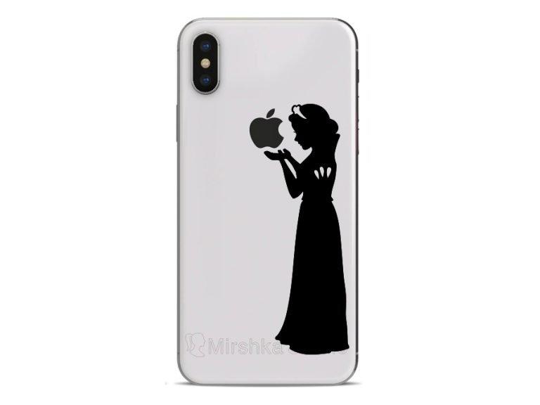 Snow White iPhone stickers