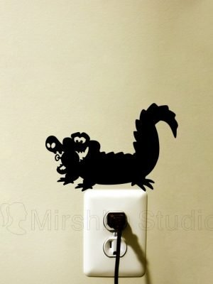 Tic Toc Croc wall sticker