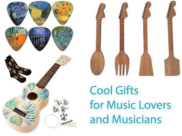 cool gifts for music lovers and musicians