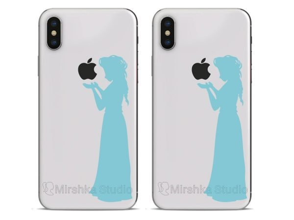 elsa frozen decals