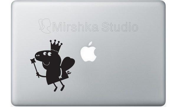peppa pig laptop decal