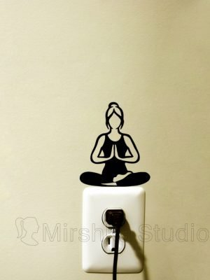 YOGA wall sticker