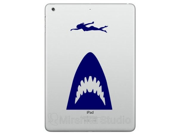 ipadpro shark sticker