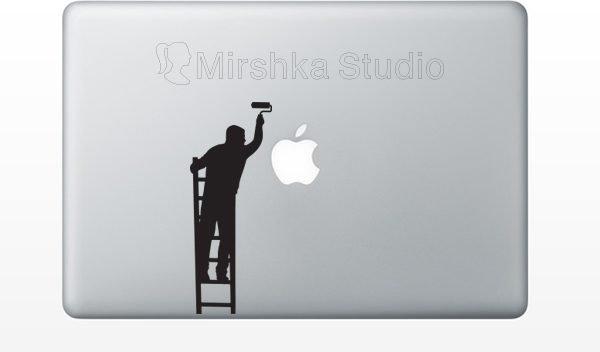macbook painter sticker