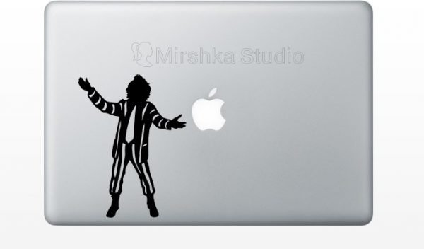 beetlejuice laptop decal