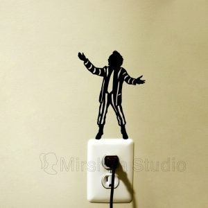 beetlejuice wall sticker