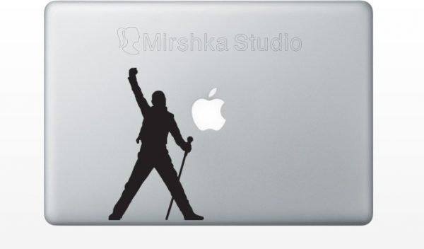 freddie mercury laptop sticker