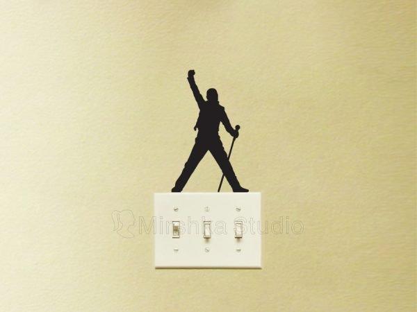 Freddie Mercury Queen sticker