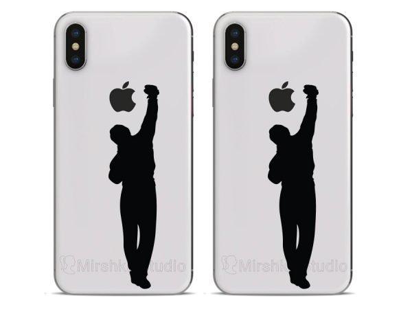 rocky phone decals