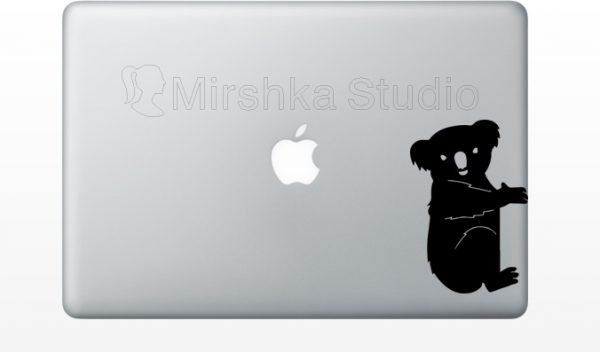 koala laptop decal