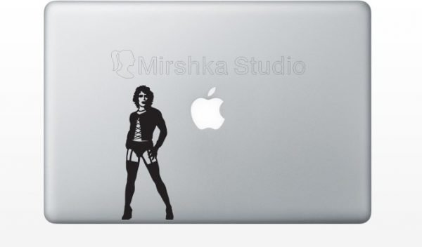 rocky horror picture show laptop sticker