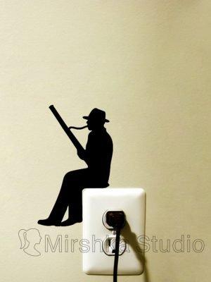 bassoon player sticker