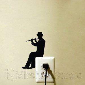 flute sticker