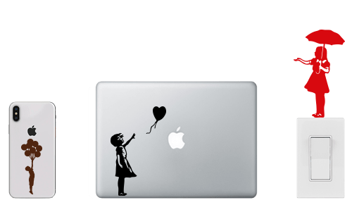 banksy stickers