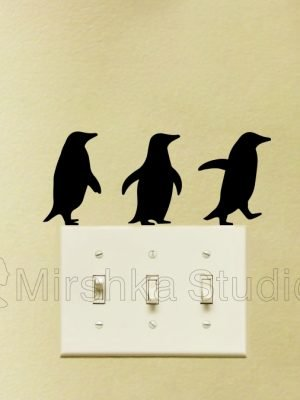 penguins wall stickers