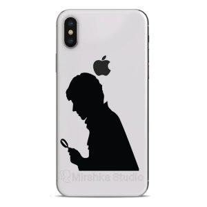 sherlock phone decal