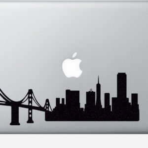 San Francisco macbook sticker