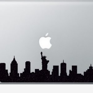 nyc skyline macbook sticker