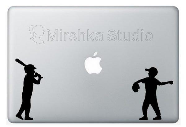 baseball laptop stickers