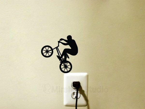 bmx bike sticker