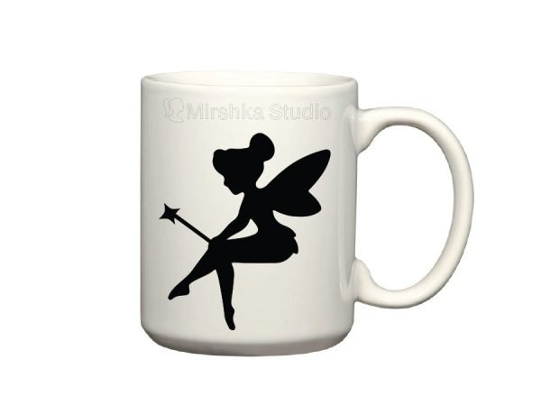 tinkerbell mug sticker