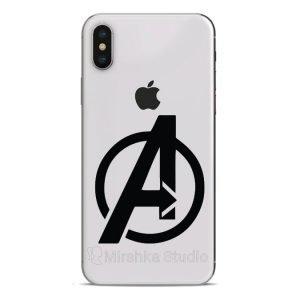 avengers logo phone sticker