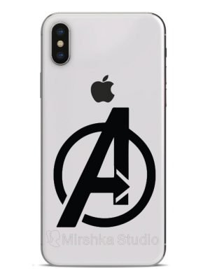 avengers logo phone sticker