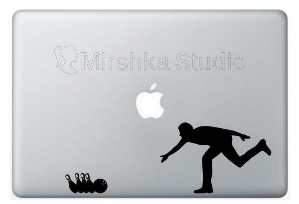 bowler laptop sticker