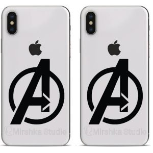 superheroes phone stickers