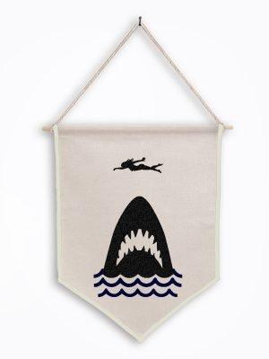 jaws wall hanging