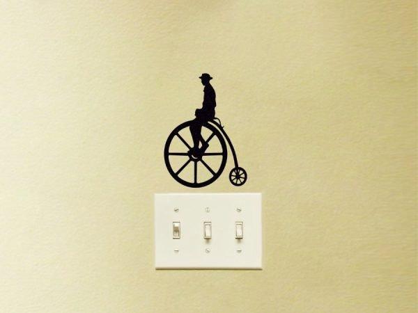 victorian bike sticker