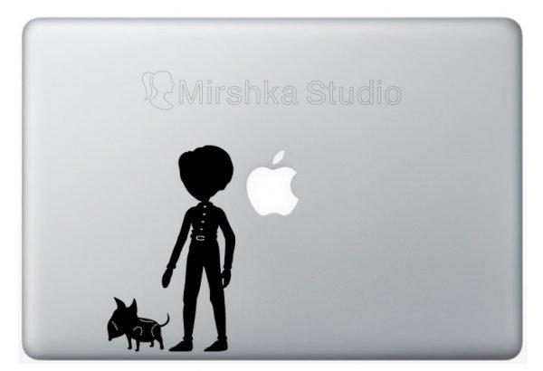 frankenweenie laptop sticker