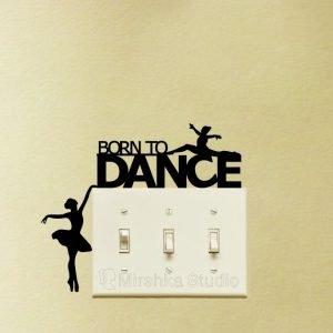 born to dance sticker