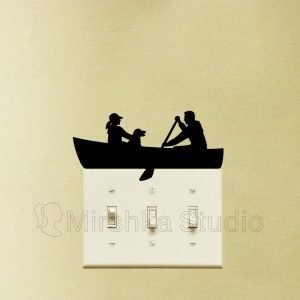 rowing wall sticker