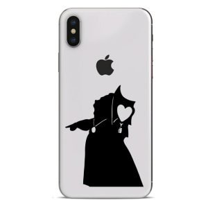queen of hearts phone sticker