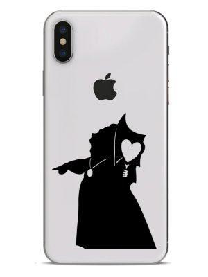 queen of hearts phone sticker
