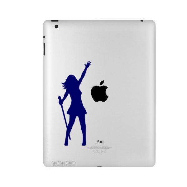 singer ipad sticker